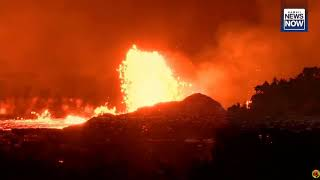 Hawaii volcano eruption 23 FISSURE NOW WARNING MUST SEE
