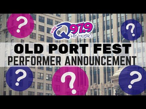 Q97.9 Old Port Fest Performer Announcement