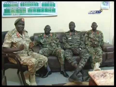 Maj. Gen. Marial Chanuong Yol @ SSTV Interview in Juba - South Sudan