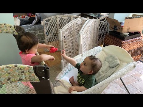 Download Youtube: Separated Twins Still Share Their Toy
