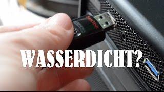Nerdweib war geschockt - Ist ein USB-Stick wasserdicht?