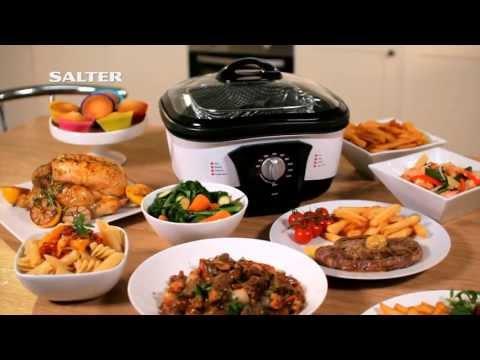 Salter 8-in-1 Multi Cooker