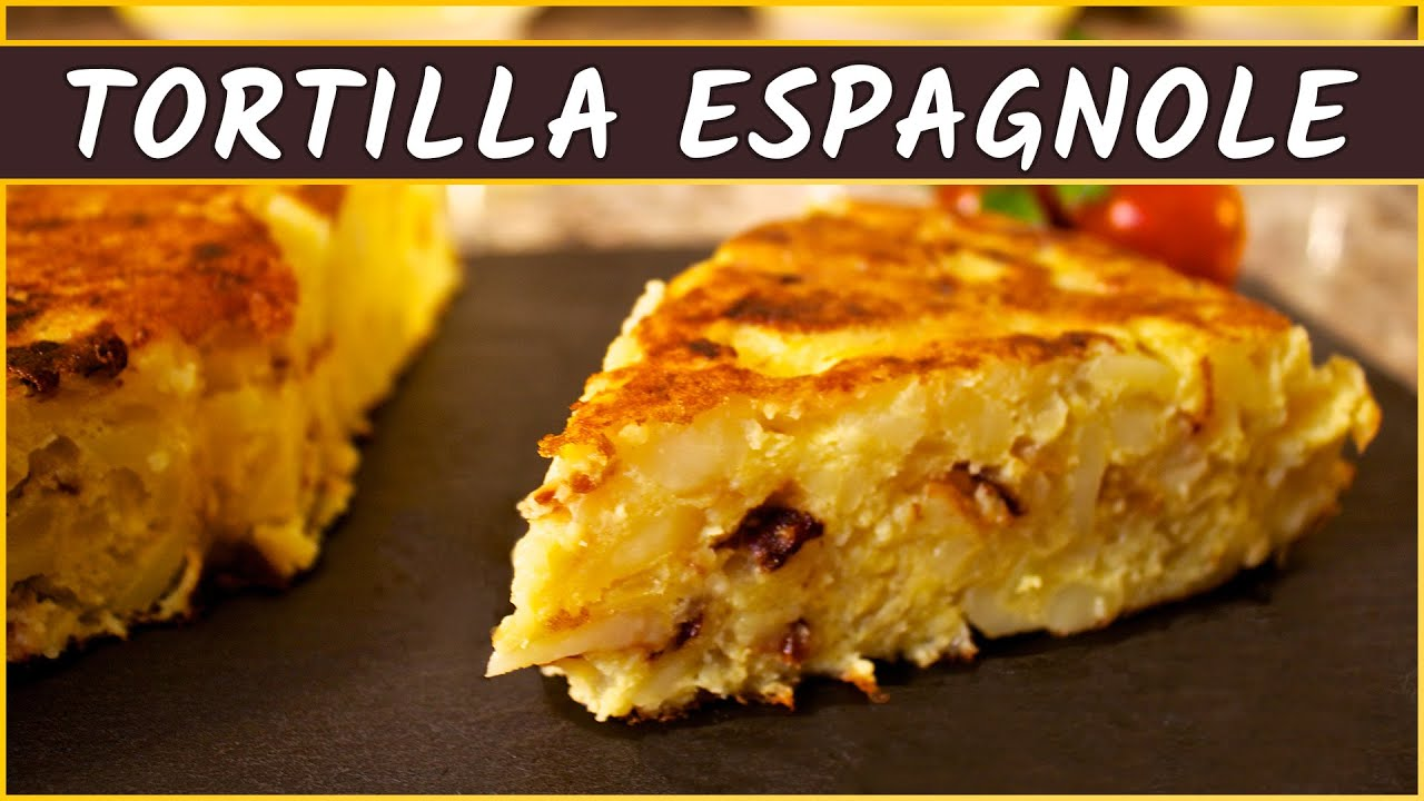 recette de l 39 omelette de pommes de terre tortilla espagnole youtube. Black Bedroom Furniture Sets. Home Design Ideas