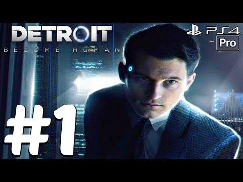 DETROIT Become Human - Gameplay Walkthrough Part 1 - Full Demo (PS4 PRO) 1080p 60fps