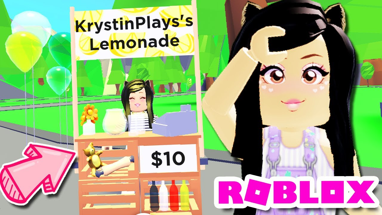 How To Make A Lemonade Stand In Roblox Adopt Me How To Get Free Legendary Lemonade Stands New Jobs In Adopt Me Roblox Update Youtube