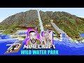 KAAN + NINA IM WILD WATER PARK mit MEGA TUNNEL RUTSCHE! Wasserpark am Strand mit Baby Pool