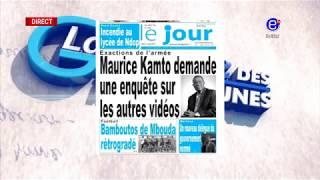 LA REVUE DES GRANDES UNES DU MARDI 14 AOUT 2018 EQUINOXE TV