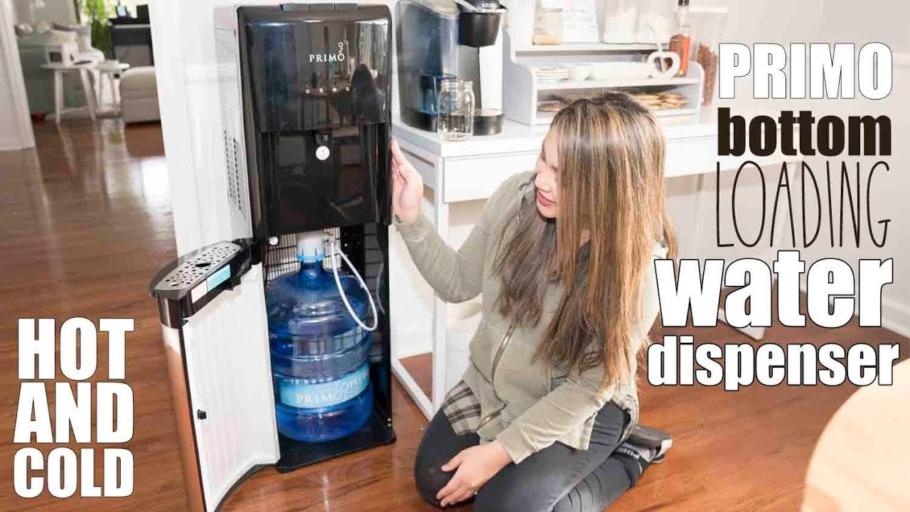 Hot Cold Water Dispenser By Primo Bottom Load Youtube