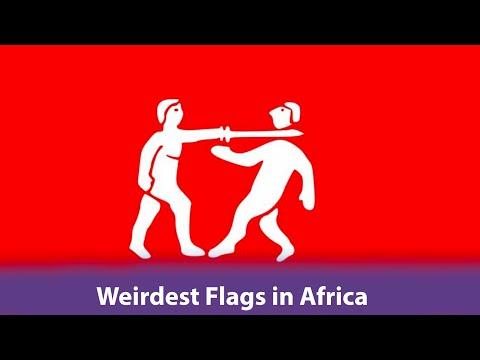 Top 5 Weirdest Designed Flags in Africa