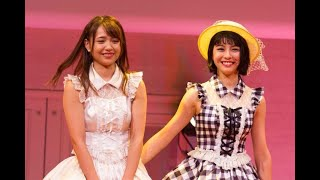 SUPER☆GiRLSの志村理佳と田中美麗がグループを卒業することが発表された。