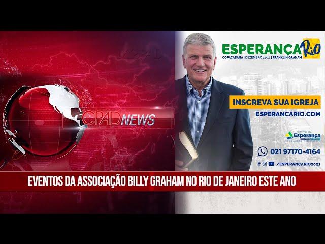 Boletim Semanal de Notícias - CPAD News 199