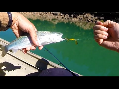 Fishing With A Rooster Tail Spinner