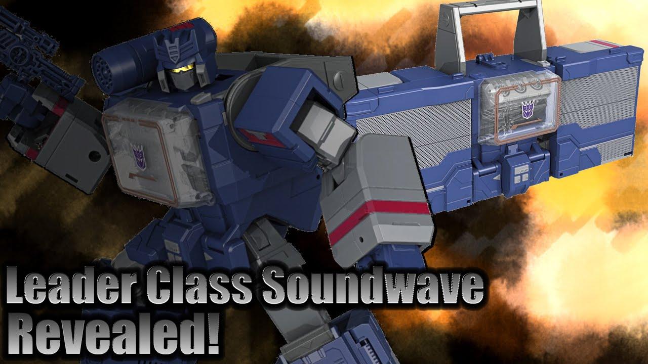 Transformers 2016 Toys - Titans Return Soundwave - Images - YouTube