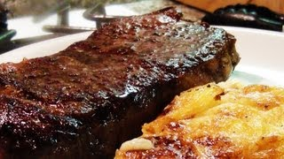 Pan Roasted Steaks - NoRecipeRequired.com