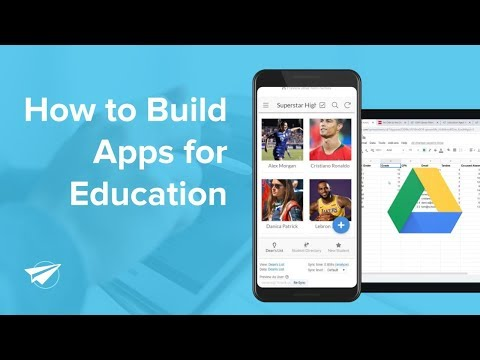 How to Build Apps for Education [No Code]