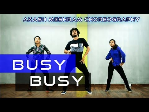 BUSY BUSY | Dance Cover 2019 | Neha pandey | Akash Meshram | Beatbreakers Crew