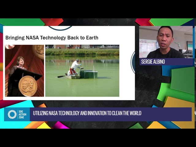 Utilizing NASA Technology and Innovation to Clean the World with Sergio Albino