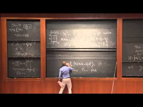 "PiTP 2015 - ""Introduction to Topological and Conformal Field Theory (2 of 2)"" - Robbert Dijkgraaf"