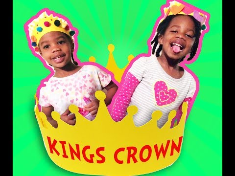 He Is The King Of Kings - Kids Bible Songs  With Lyrics