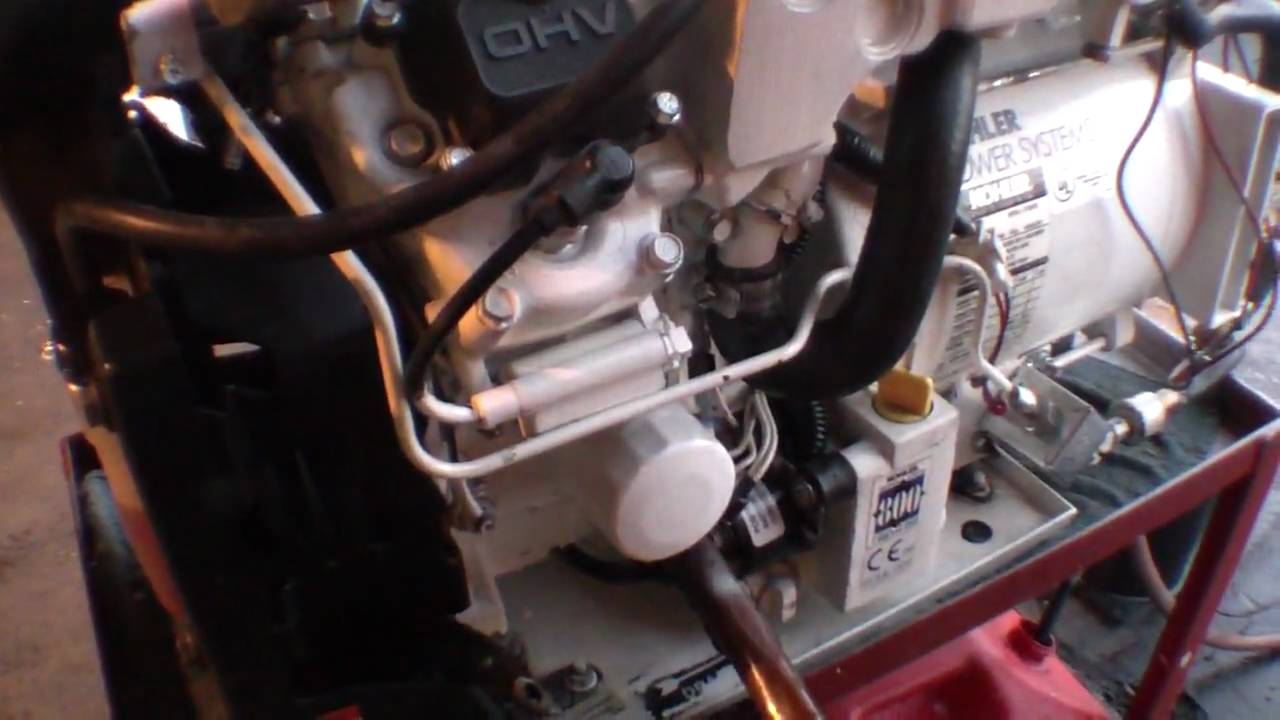 5E Generator kohler marine gas generator 5e 5kw 5 kw low hours 109 hours