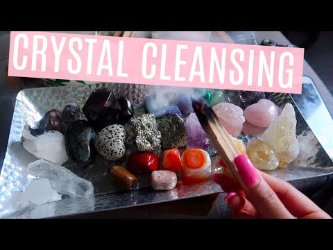 Crystal Cleaning + The Warnings + Why You Need Them In Your Life