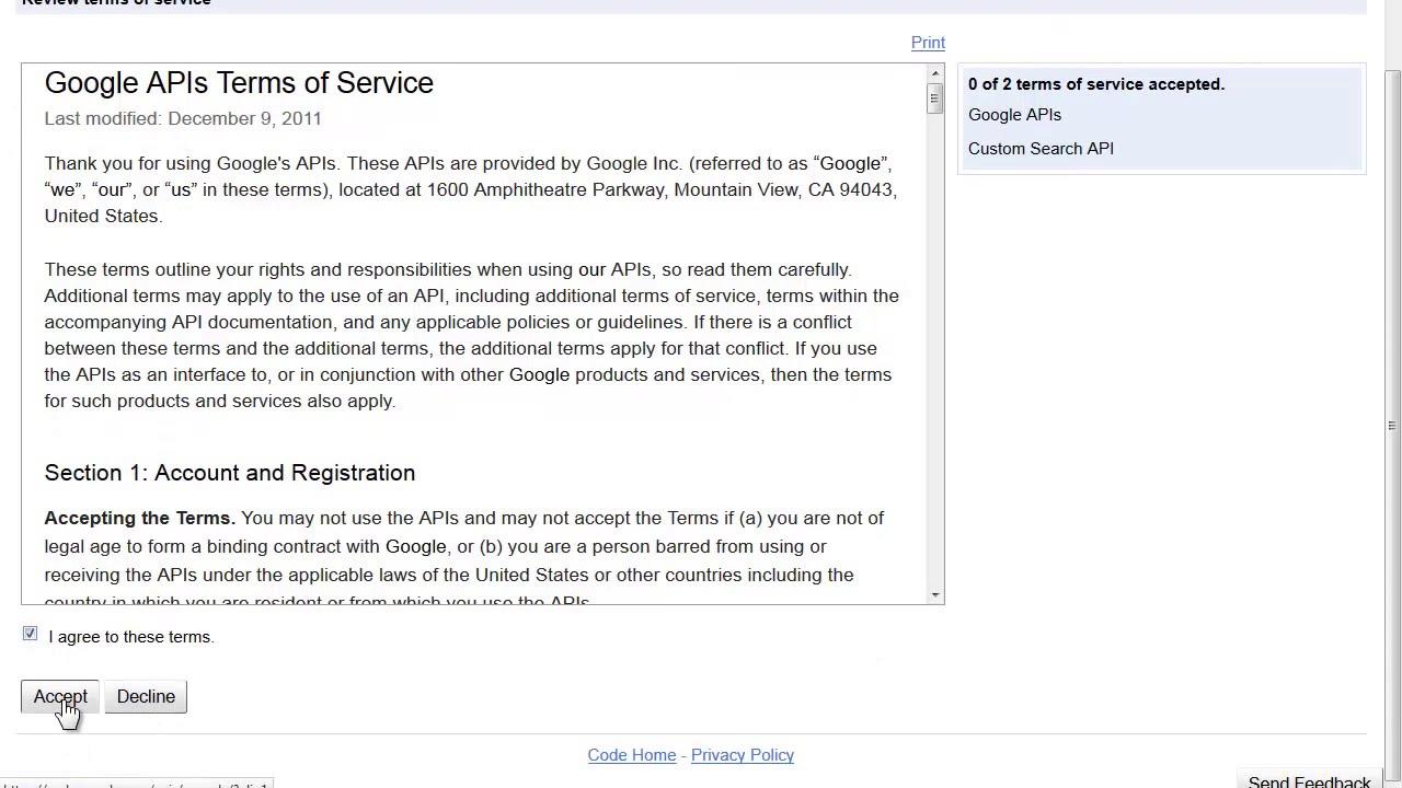 How to Create an API Key for Google Custom Search