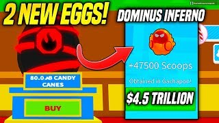 SPENDING 4.5 TRILLION CANDY CANES For The RAREST PET in ICE CREAM SIMULATOR UPDATE! (Roblox)