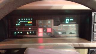 Talking Digital Dash - Mg Maestro 1600