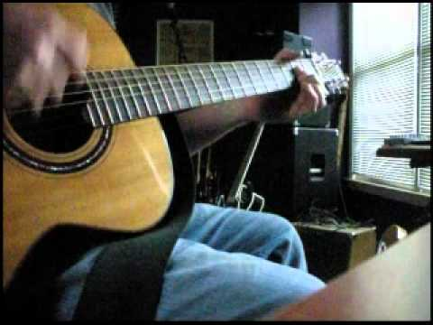 Overkill - Solo instrumental Acoustic guitar Men At Work cover