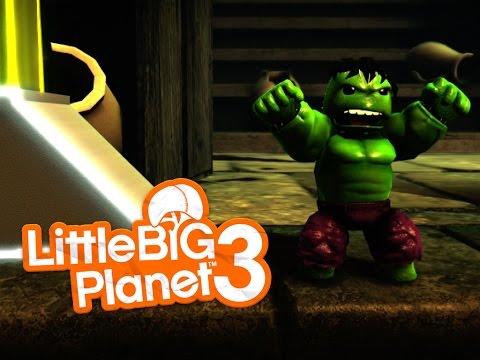 [Little Big Planet 3] MARVEL SUPERHEROES DUELS Level!