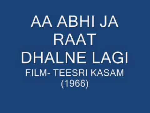 Lyrics and Translation Aa Bhi Ja Aa Bhi Ja - musiXmatch