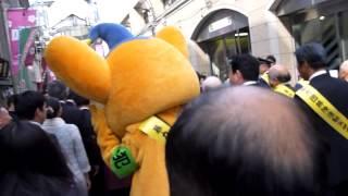 2012年4月15日(日)に阿佐ヶ谷パール商店街に行ったところ、たまたま暴力...