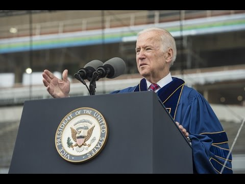 Notre Dame Commencement 2016: Vice President Joseph Biden's Laetare Speech