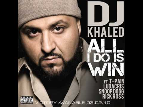 "DJ Khaled ""All I Do Is Win"" Feat. T-Pain, Ludacris, Snoop Dogg & Rick Ross / Album In Stores 3.2.10"