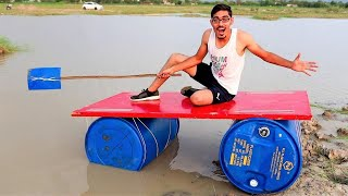 Desi Jugaad Boat- Making & Testing | Will It Swim?