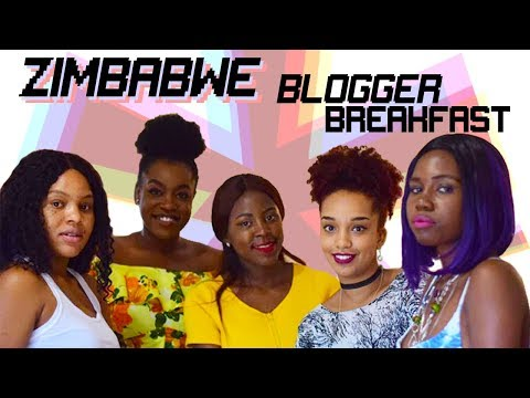 Zimbabwe Blogger Breakfast! Talking Blogs, Styling, Business & more!