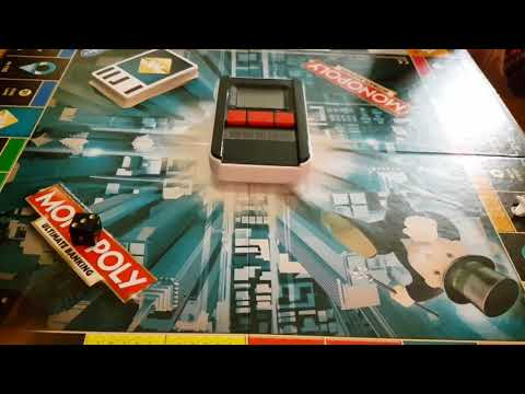 Playing with the Monopoly ultimate Banking game