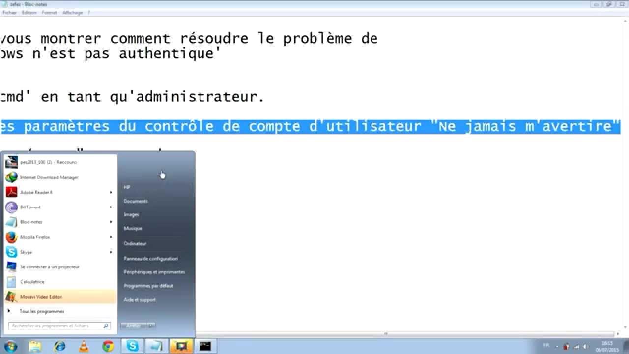windows 7 numéro 7601 authentique gratuit