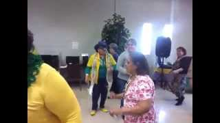 Brady Senior Center Mardi Grass Party 2015
