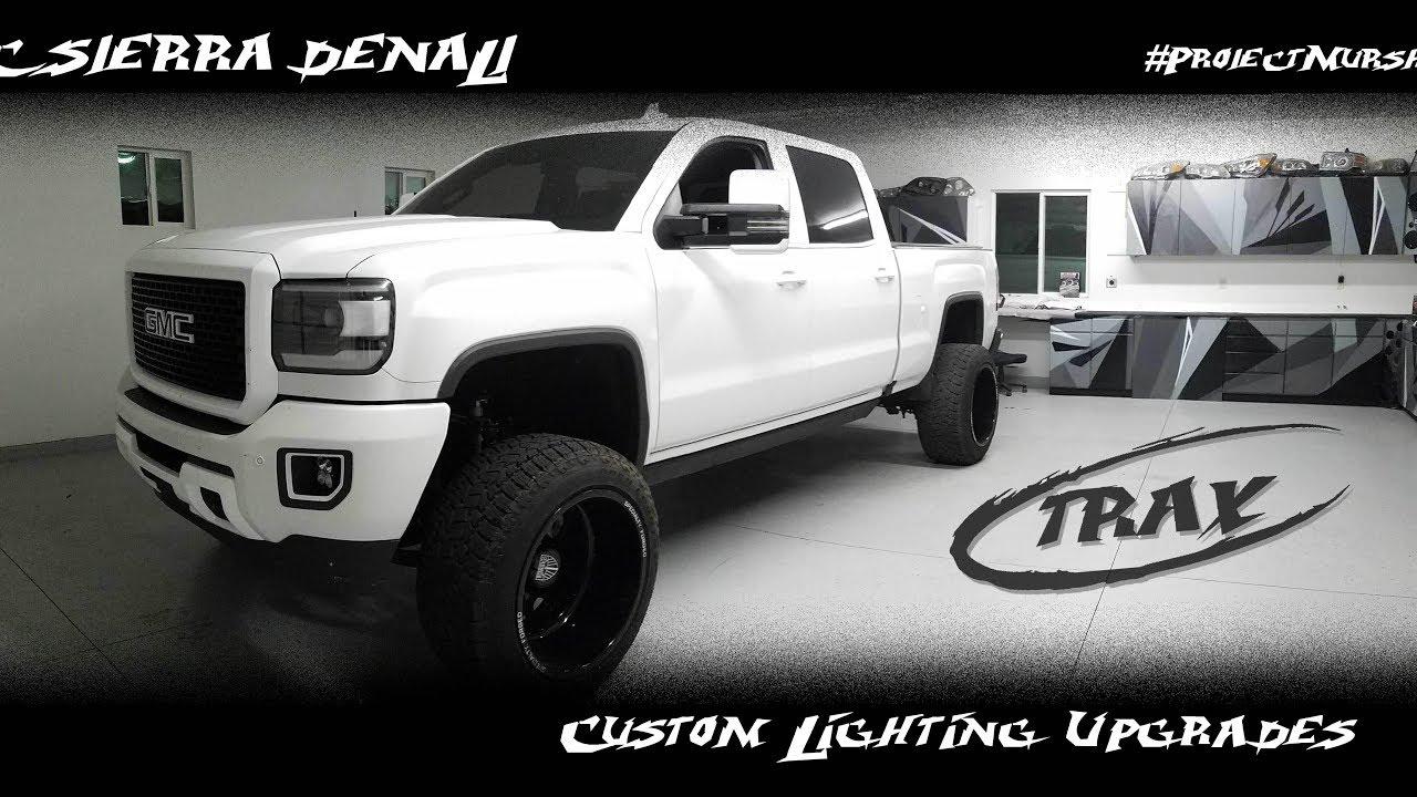 #ProjectMurshMello GMC Sierra Denali Custom Lighting Upgrades - YouTube