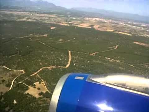 Onur Air flight 456 - Takeoff& Landing