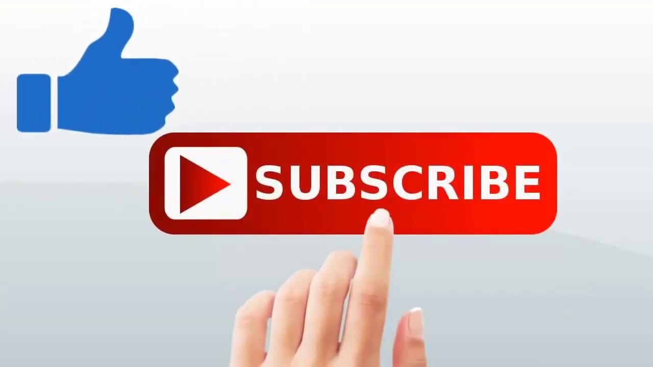 زر لايك يوتيوب Png