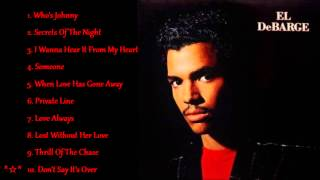 Watch El Debarge Dont Say Its Over video