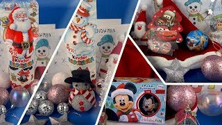 Merry Christmas Christmas Song Vocals Kinder Surprise Eggs Opening Cars Mickey Mouse #187
