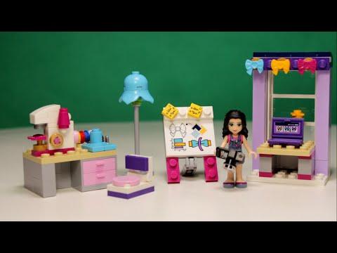 Lego friends - emma's creative workshop, 41115 / лего френдс - творческая мастерская...
