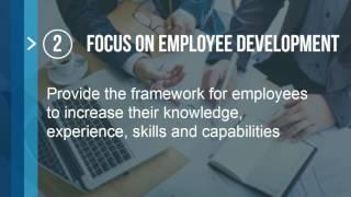 5 Goals of Performance Management