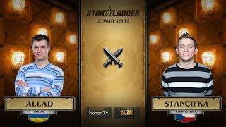 Allad vs StanCifka, 1/2, StarLadder Hearthstone Ultimate Series