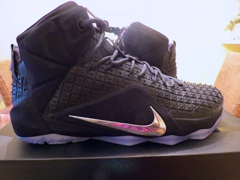 new concept e2758 4ca07 LEBRON 12 EXT RUBBER CITY QS UNBOXING