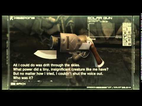 MGS4 - Guns of the Patriots - POldskooL - all weapons, camo, items
