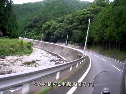 through the forest】 奈良県道226号大台河合線100728 (ツーリング ...
